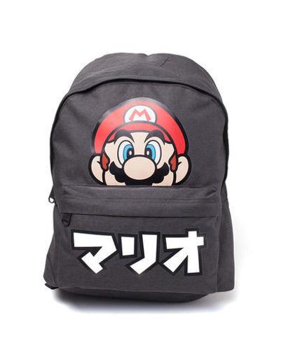 Изображение Nintendo - Super Mario - Backpack with Mario caption in Japanese
