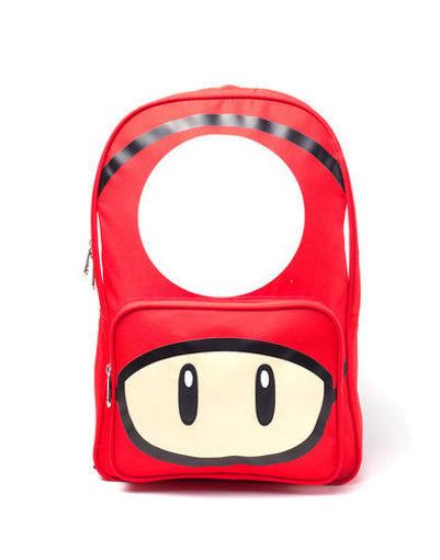 Изображение Nintendo - Backpack with mushroom print