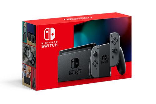 Imagen de Nintendo Switch with Gray Joy‑Con™