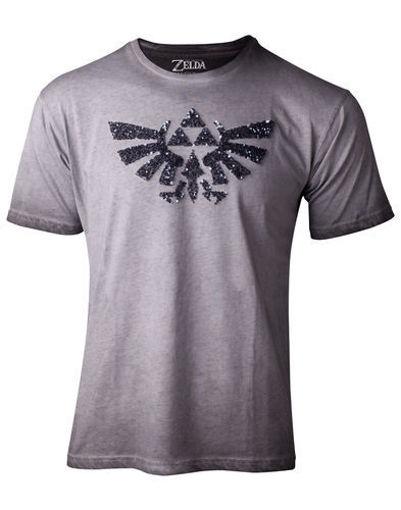 Изображение Zelda - Gray Women's T-shirt Trayforce icon from Fayette
