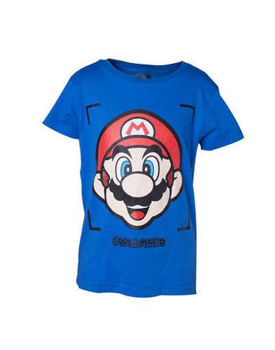 Picture of Nintendo - Super Mario - חולצת ילדים פרצוף מריו