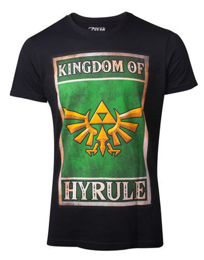 Изображение Zelda - Hyrule Kingdom Poster Shirt