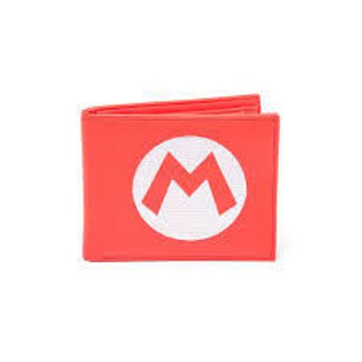 Изображение Nintendo - Super Mario Red Bifold Wallet With Symbol Embroidery