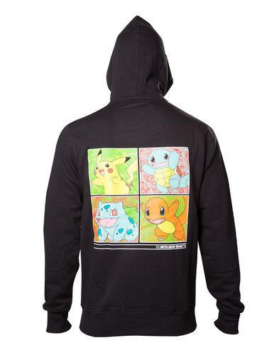 Изображение Pokémon - Hoodie with initial Pokemon print