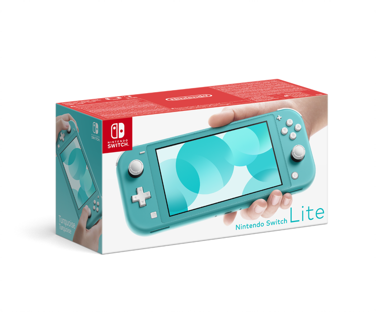Изображение Nintendo Switch Lite turquoise