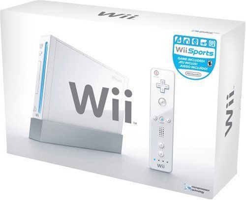Wii Console White New