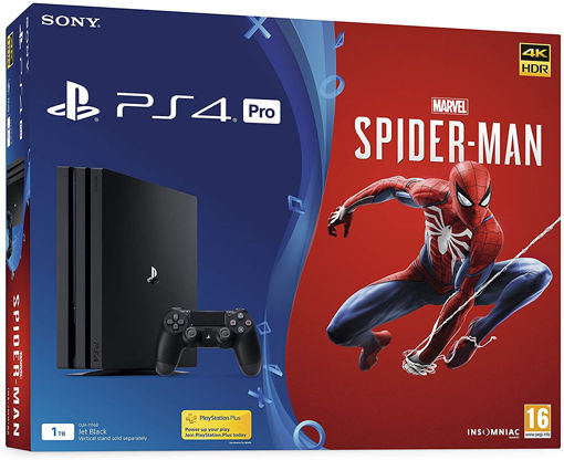 PS4 1TB PRO WITH MARVEL'S SPIDER-MAN