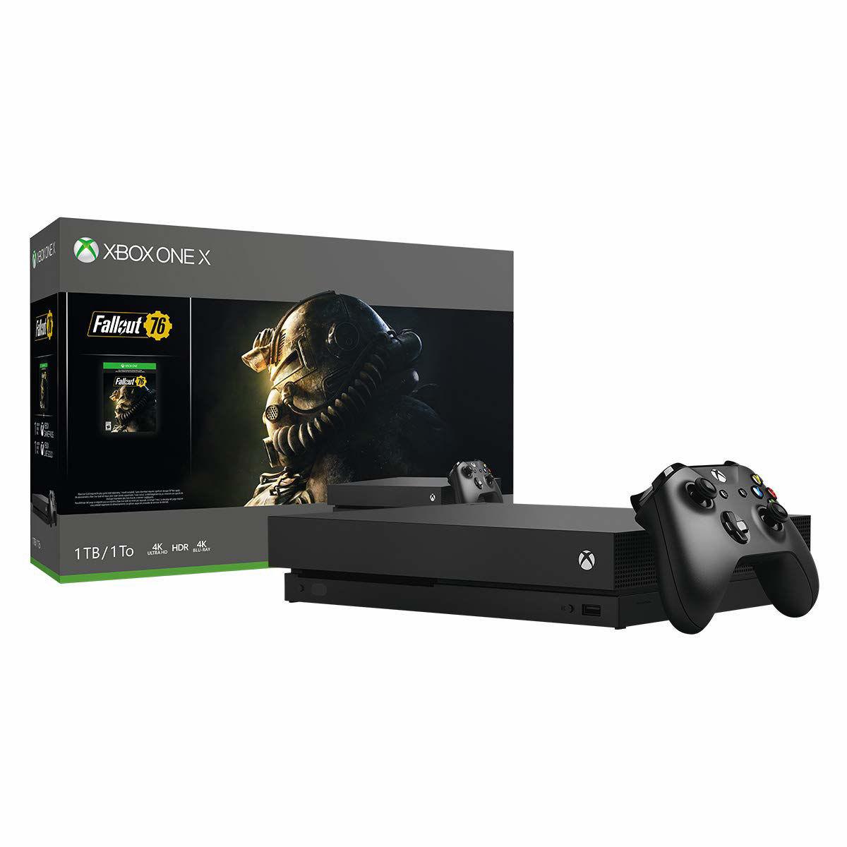 Изображение Xbox One X Fallout 76 Bundle (1TB)
