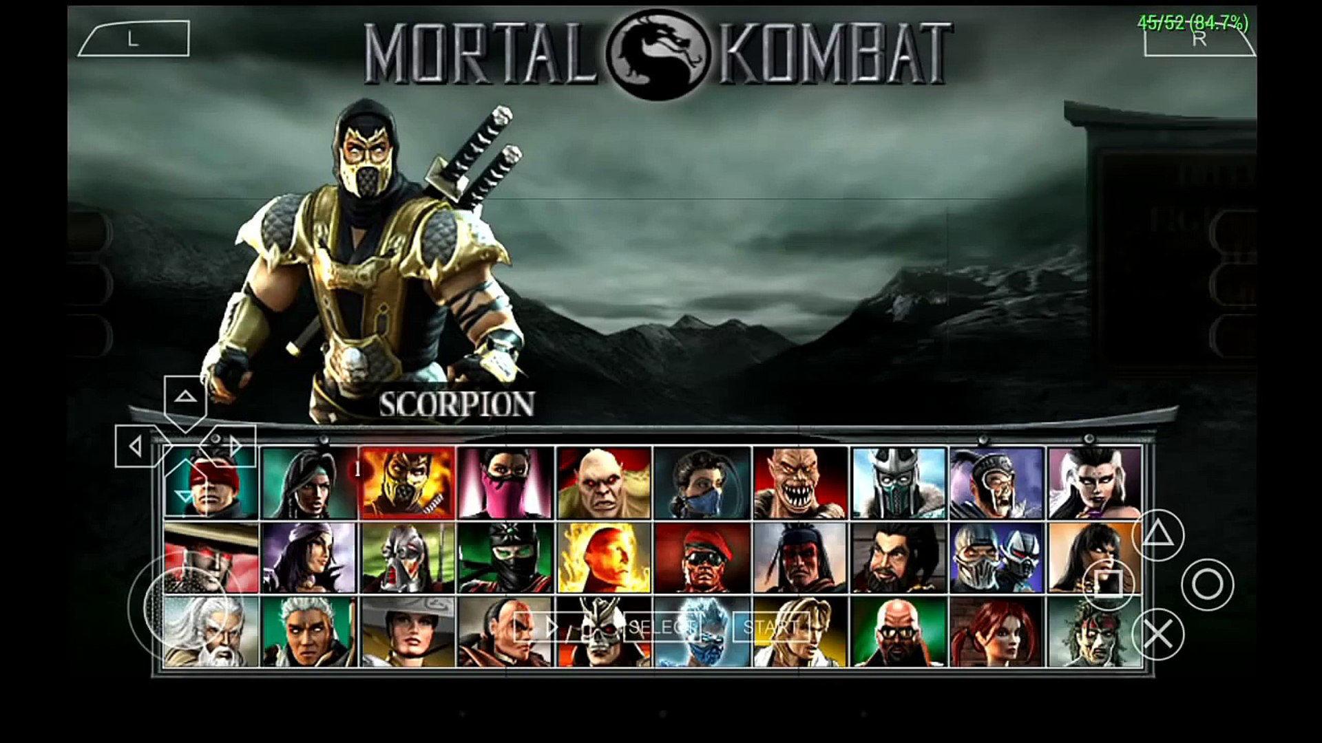 Mortal Kombat Unchained - PSP