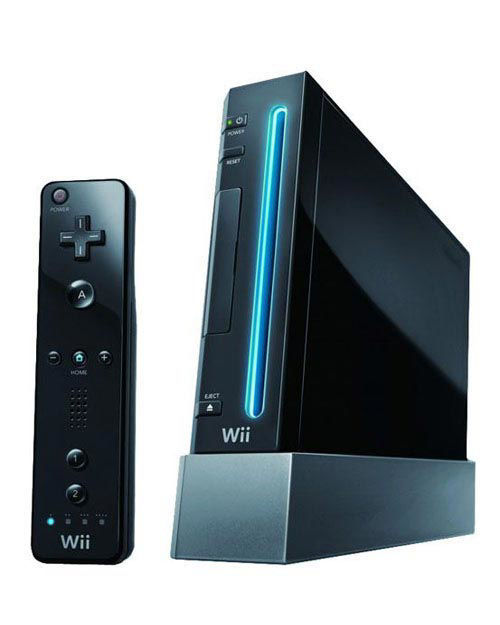 Wii Console Black - Pro Upgraded