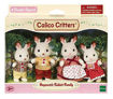 Изображение Calico Critters, Hopscotch Rabbit Family, Dolls, Dollhouse Figures, Collectible Toys