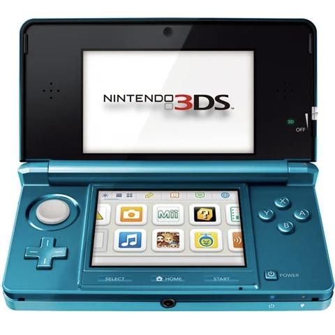 Nintendo 3DS Console Aqua Blue
