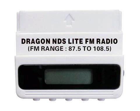 Nintendo DS Lite Stereo FM Radio Converter