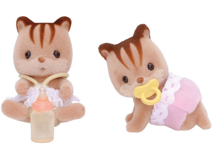 Изображение Walnut Squirrel Twin Babies