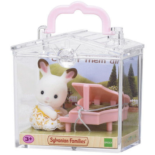Изображение Baby Carry Case (Rabbit with Piano)