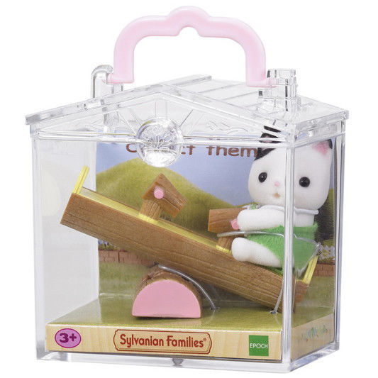 Изображение Baby Carry Case (Cat on See-saw)