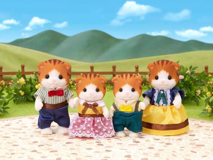 Изображение Maple Cat Family
