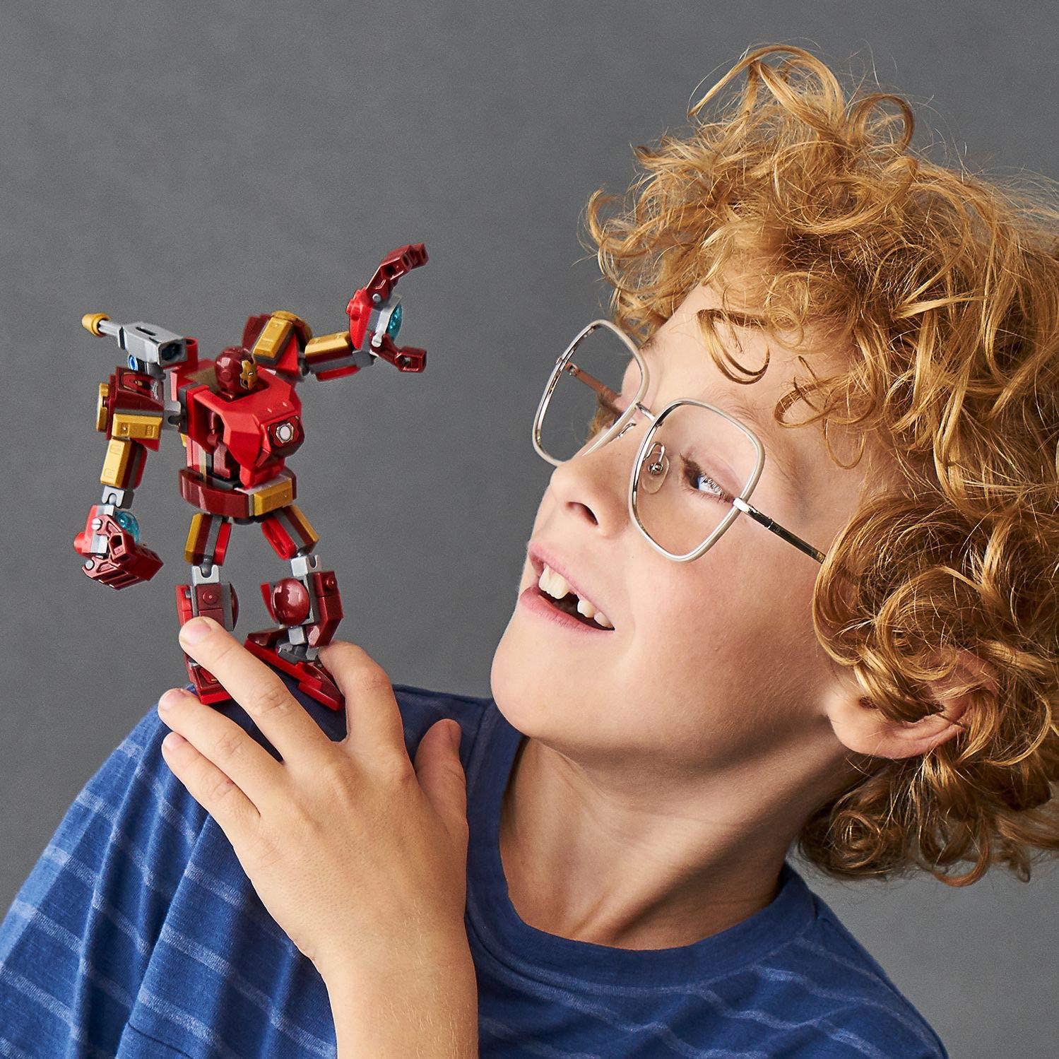 Imagen de Super Heroes Marvel Avengers Iron Man Mech Playset