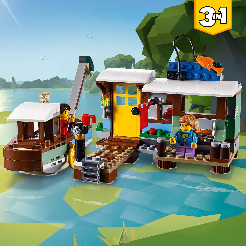 Изображение Riverside Houseboat