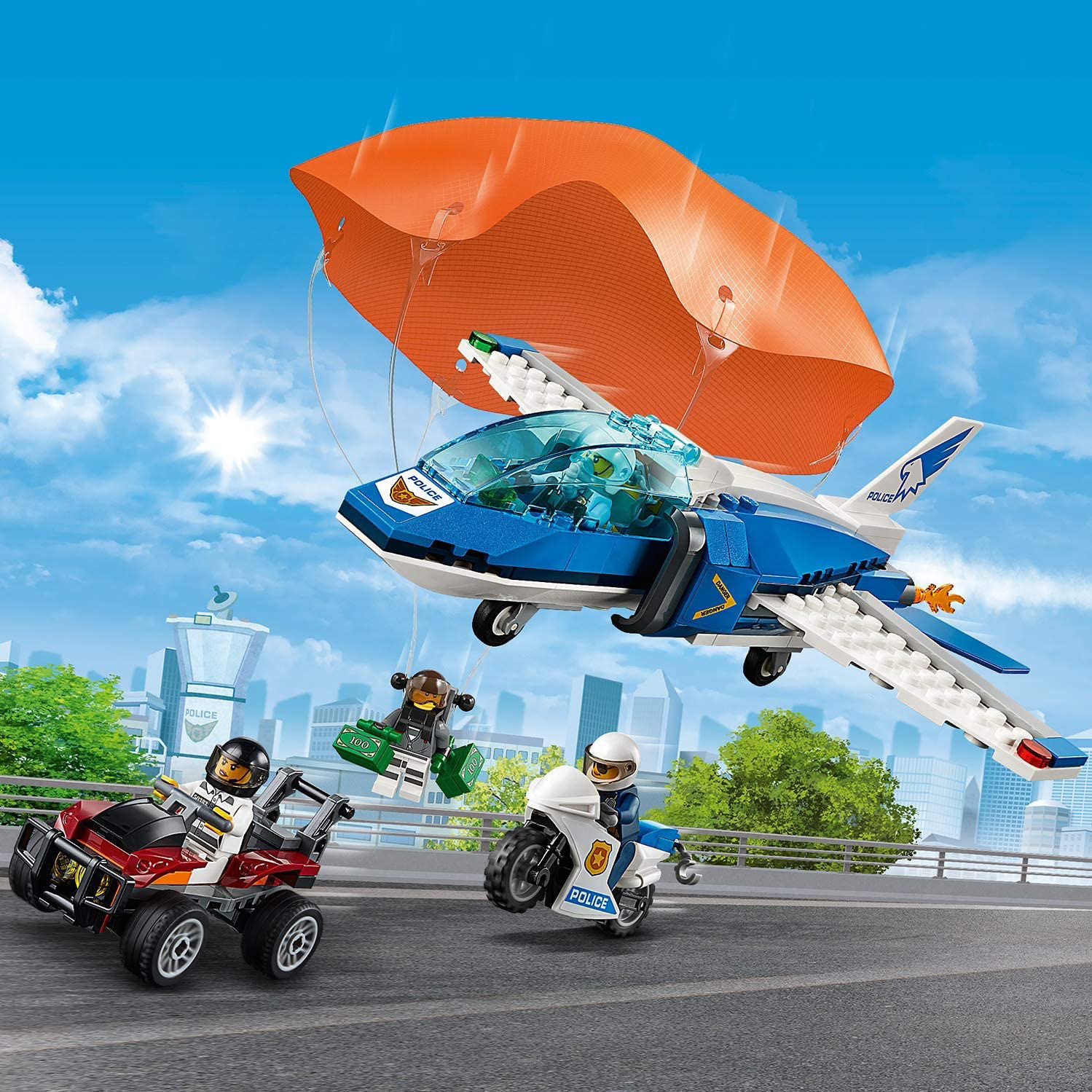 Imagen de Sky Police Parachute Arrest