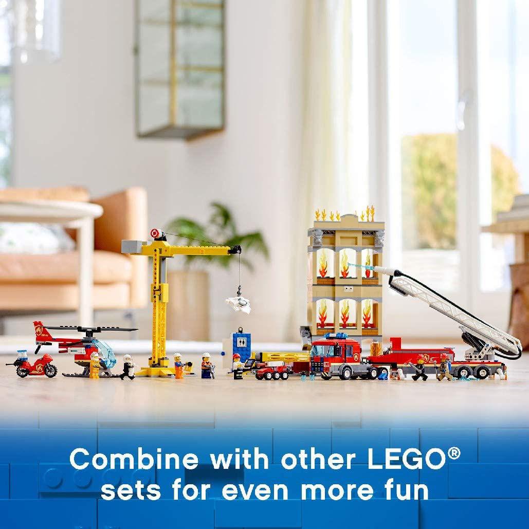 Picture of LEGO CITY 60216 לגו עיר -  מכבי האש של מרכז העיר