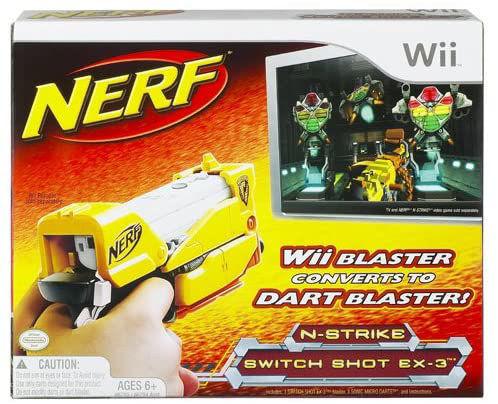 Wii Nerf N strikes