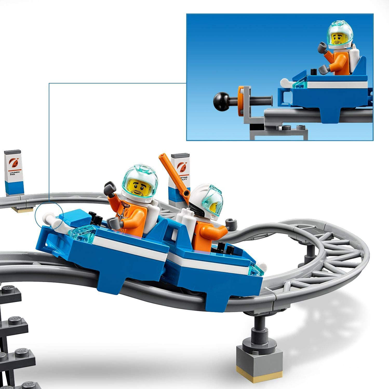 LEGO City לגו סיטי רקטות חלל ועמדת שיגור ובקרה 60228