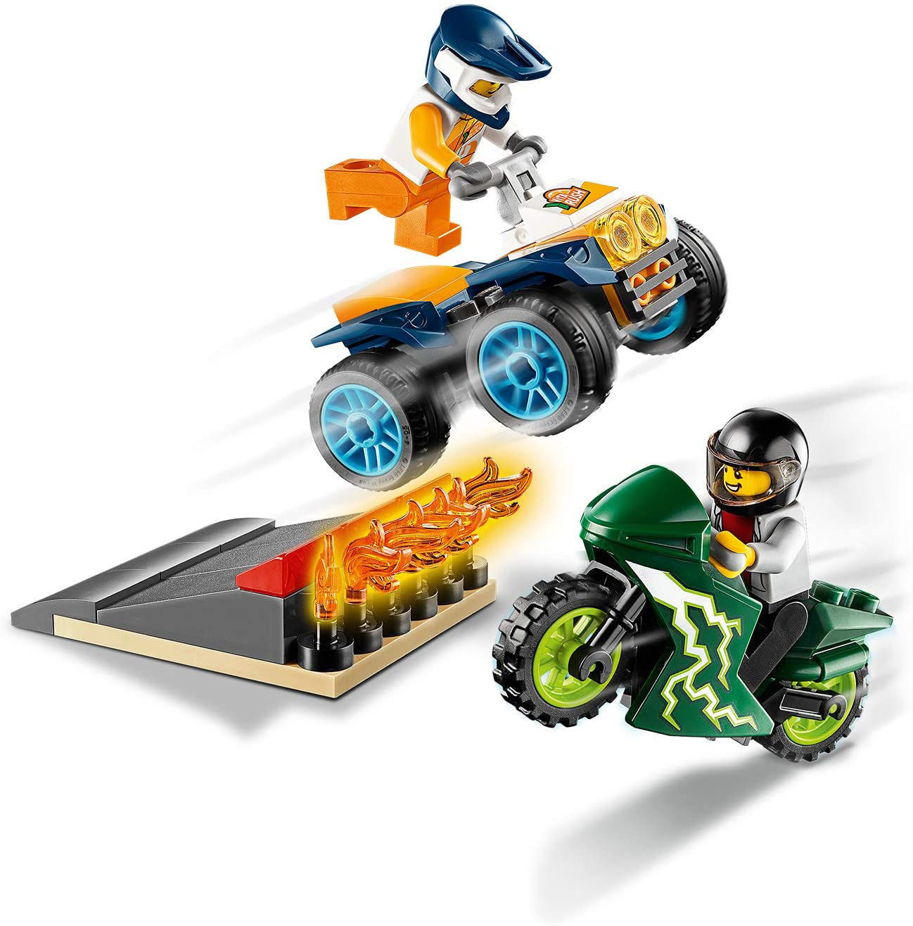LEGO City 60255 לגו עיר צוות הפעלולים