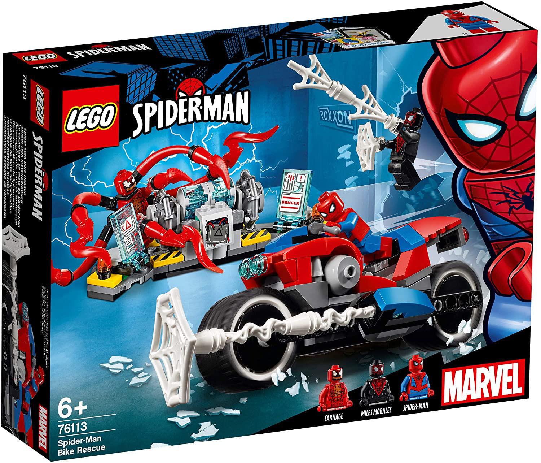 Изображение Spider-Man Bike Rescue