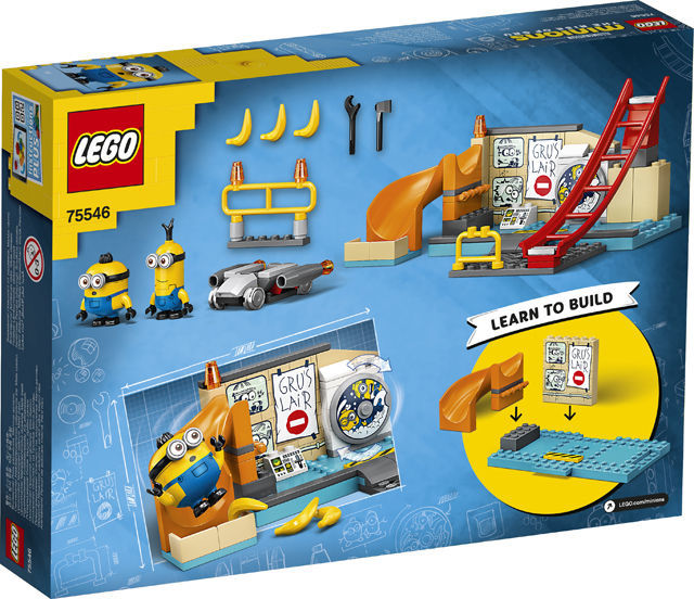 Picture of LEGO Minions in Gru's Lab