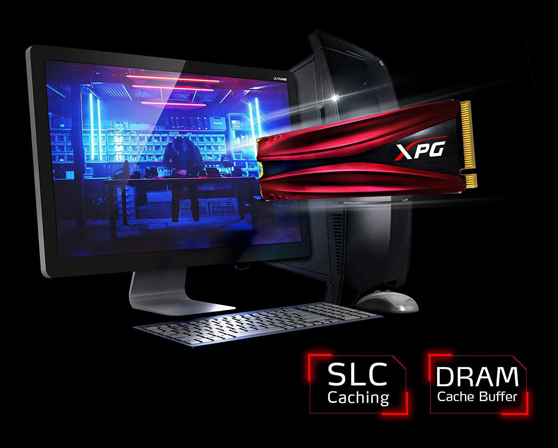Изображение ADATA XPG GAMMIX S11 Pro 512GB M.2 Internal Gaming Solid State Drive