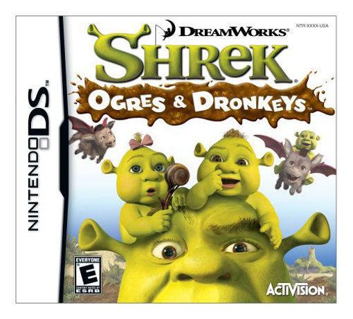 Imagen de Nintendo DS Shrek the Third: Ogres and Dronkeys