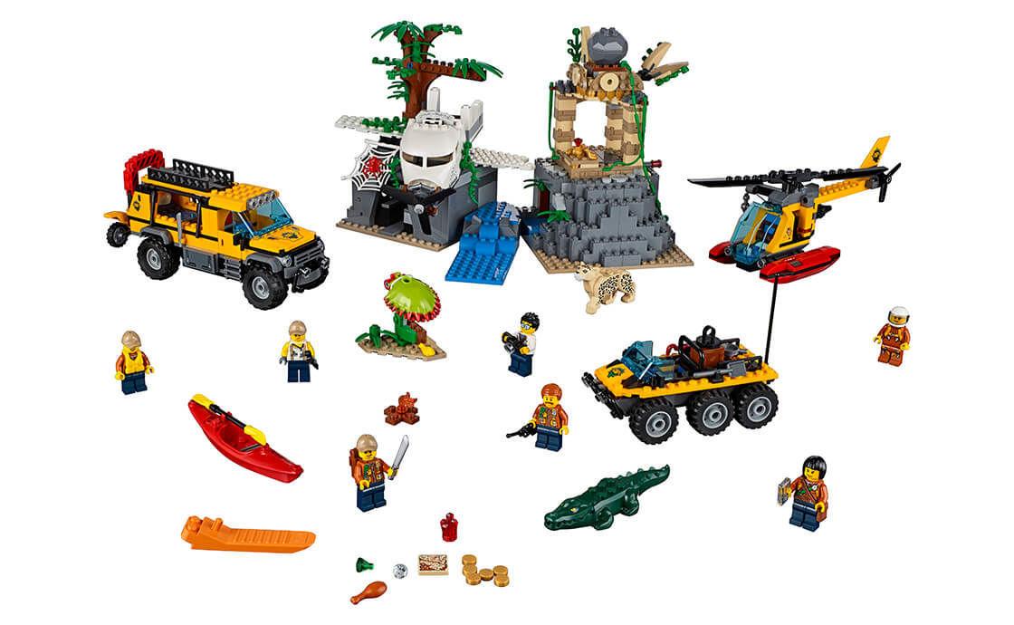 LEGO City Jungle Explorers Base 60161