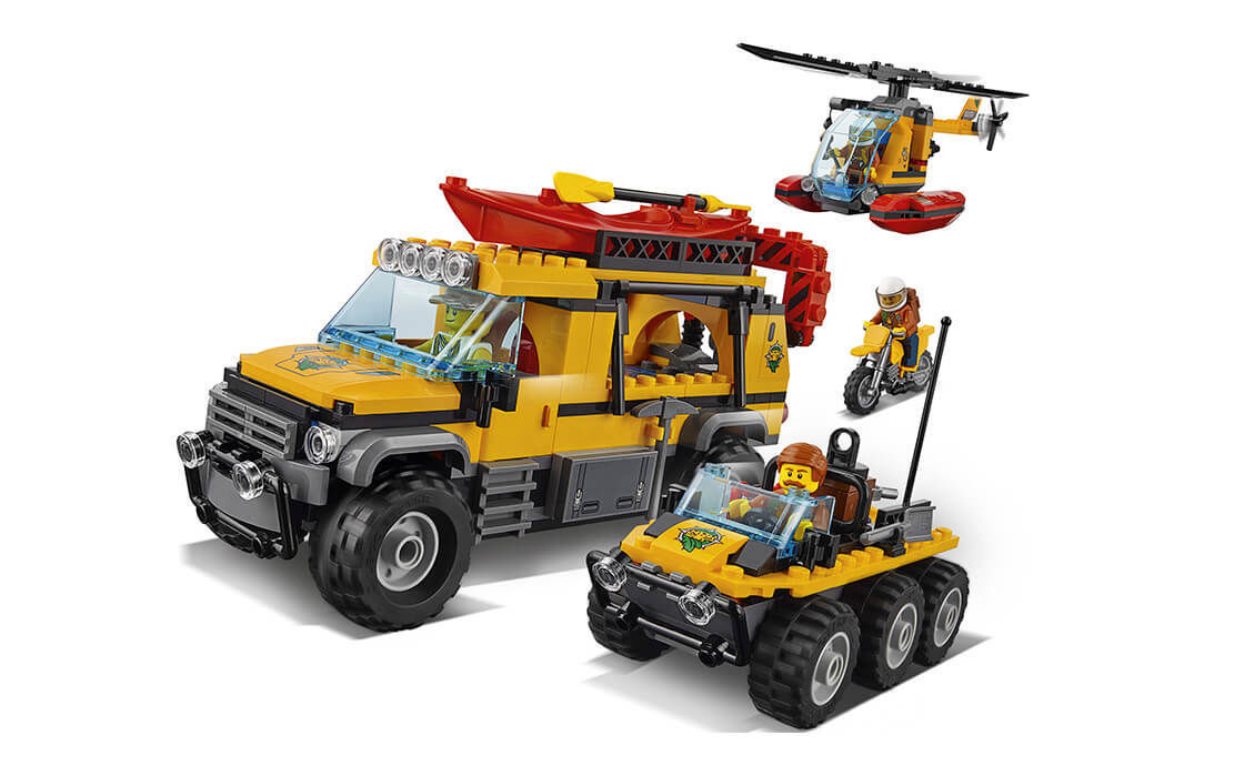 LEGO City בסיס חוקרי הג'ונגל סיטי לגו 60161