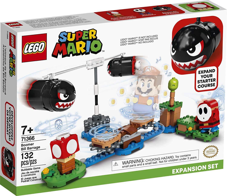 Изображение LEGO Super Mario Boomer Bill Barrage Expansion Set (71366)
