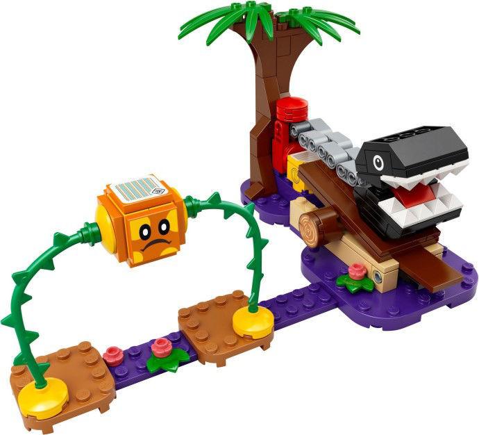 Imagen de Lego Super Mario 71381 Chain Chomp Jungle Encounter Expansion Set
