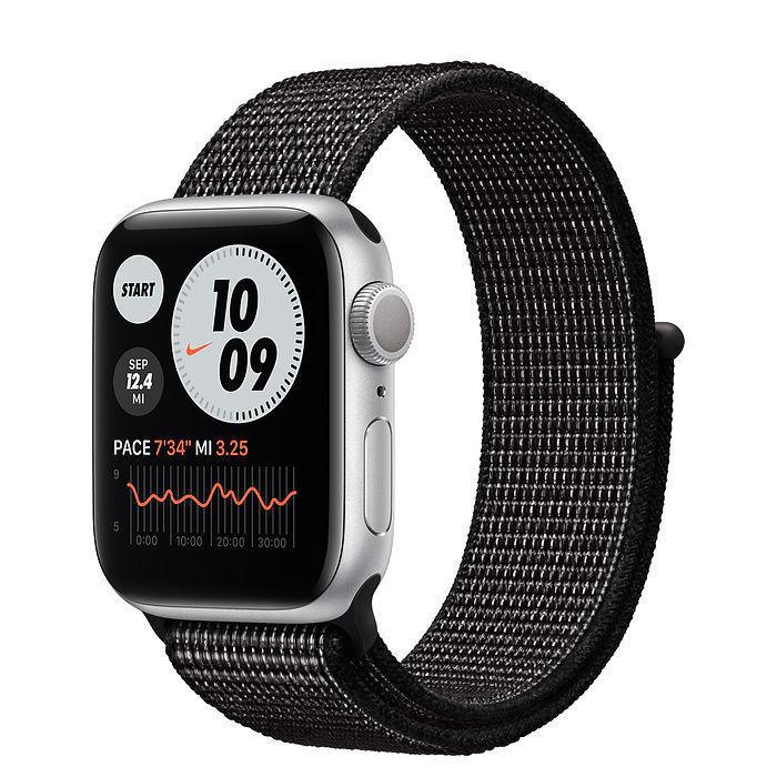 Apple Watch Nike Silver Aluminum Case with Nike Sport Loop