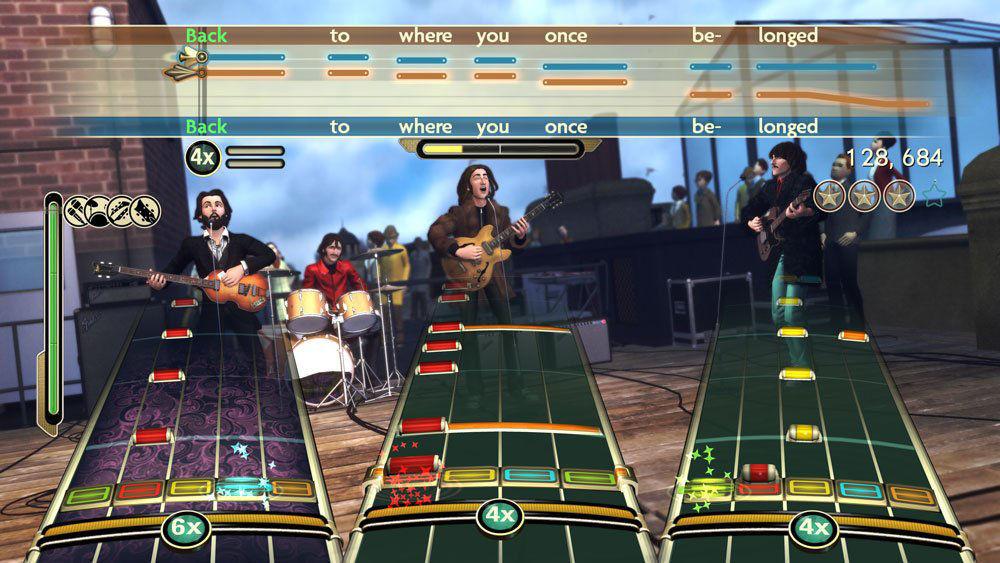 Rock Band: Beatles - Xbox 360