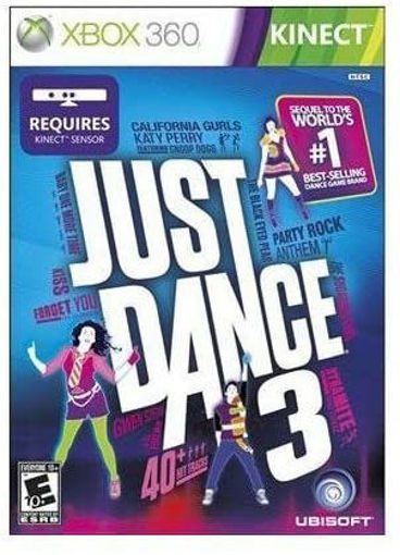 Ubisoft 52677 Just Dance 3 X360 Kinect