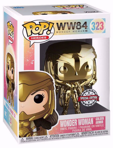 POP Heroes: Wonder Woman 1984 - WW Gold Power