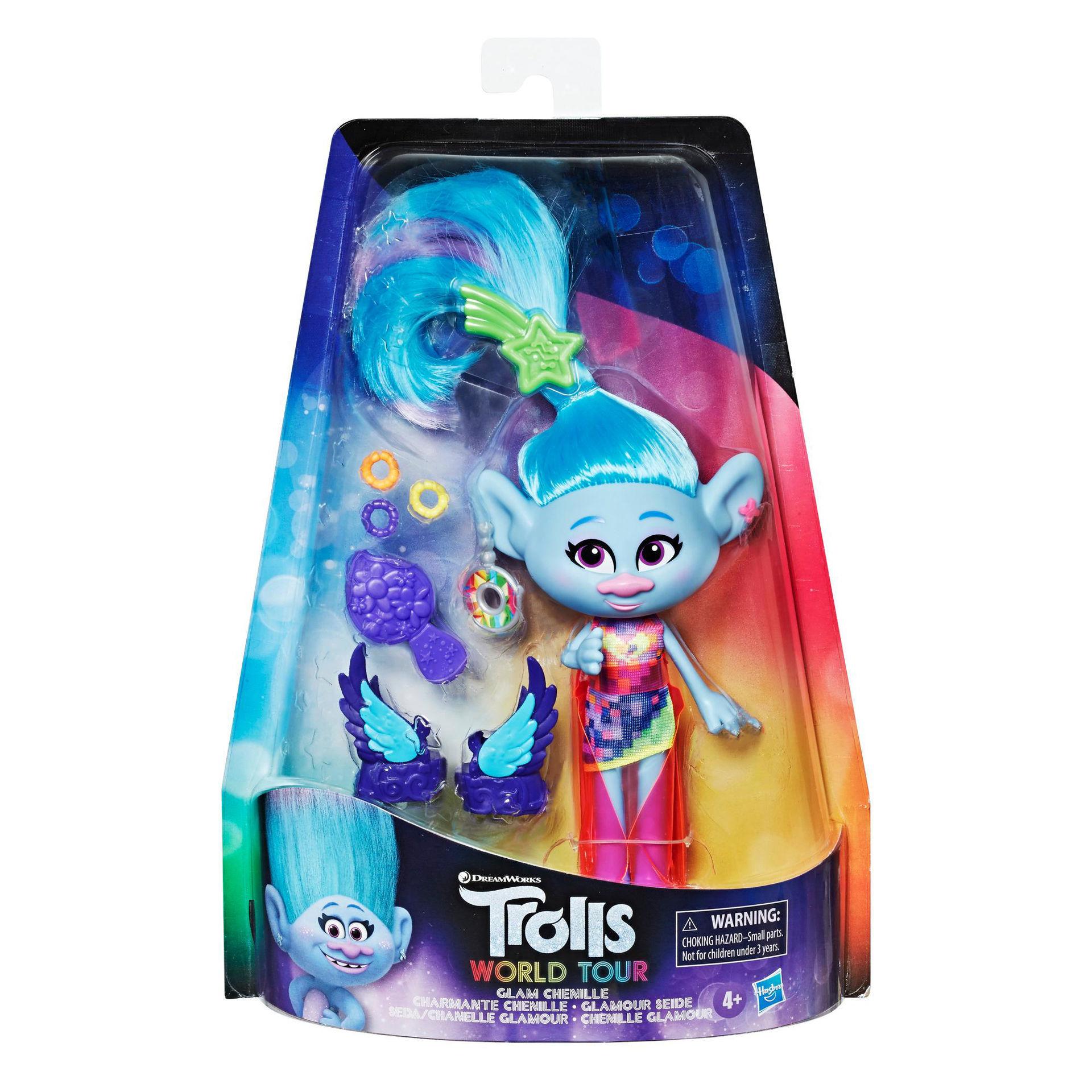 DreamWorks Trolls Glam Chenille Fashion Doll