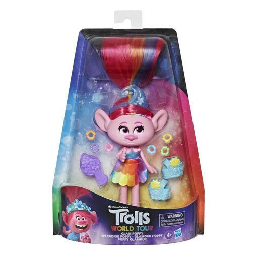DreamWorks Trolls Glam Poppy Fashion Doll with Dress