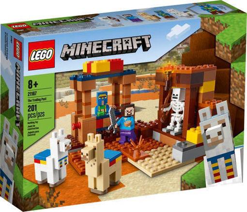 Image de Lego Minecraft The trading post 21167