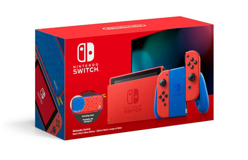 Nintendo Switch – Mario Red & Blue Edition