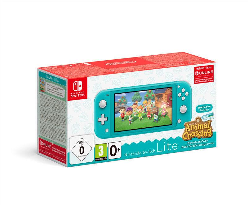 Nintendo Switch Lite Turquoise Animal Crossing