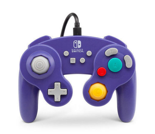 GameCube Purple Wire Controller in Retro Power A Design