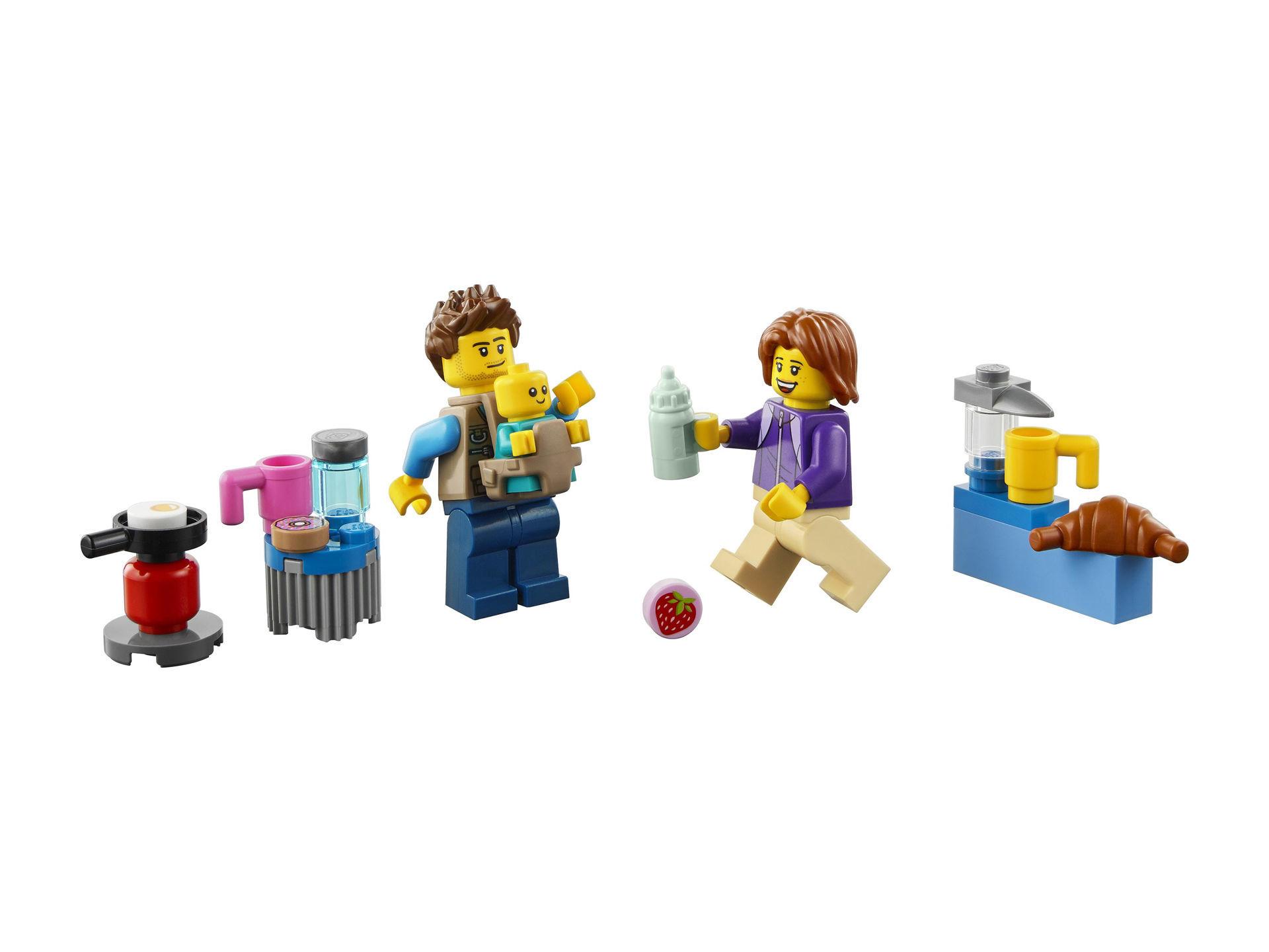 Lego City Holiday Camper Van 60283