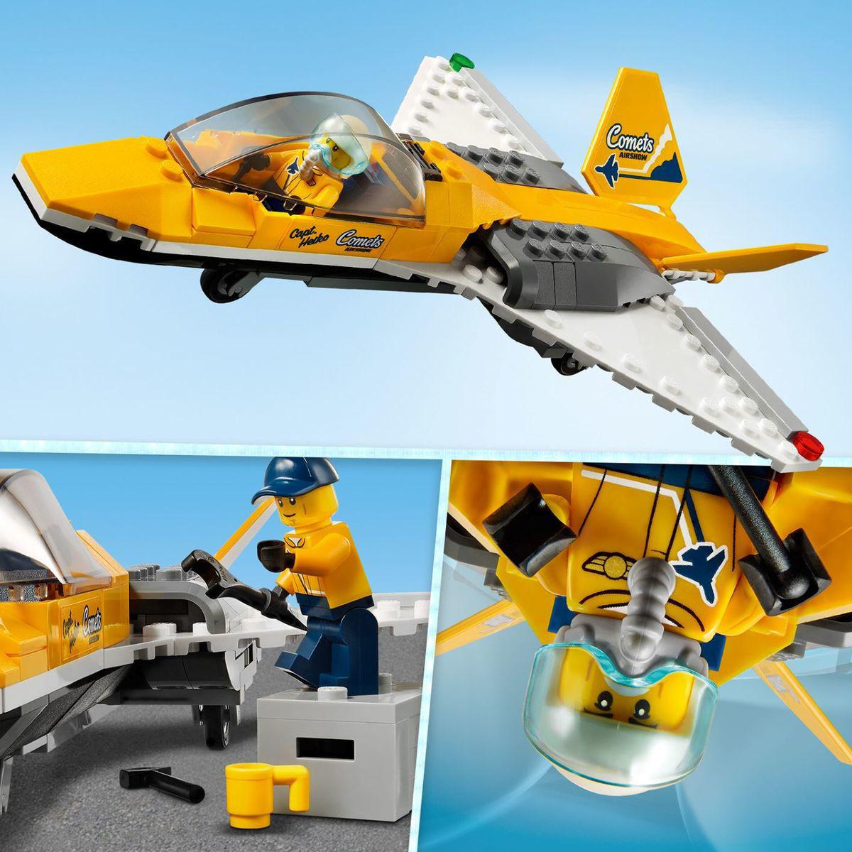Lego City Airshow Jet Transporter 60289