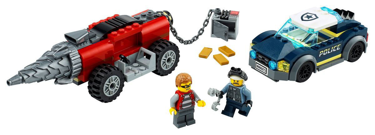 Lego City Police Driller Chase 60273