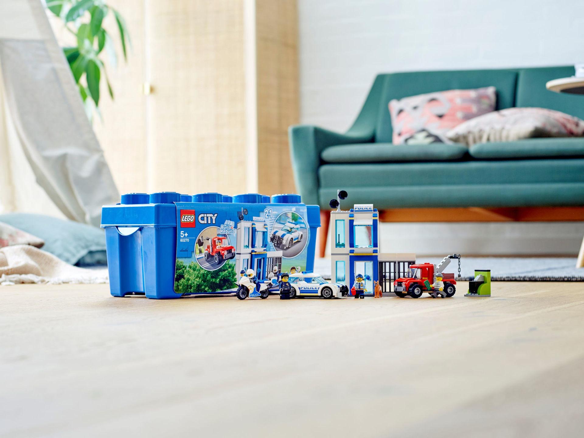 Изображение Lego Police Brick Box